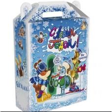 Новогодний подарок: Веселые комиксы. Вес 980 гр. Размер 16.8 х 7 х 25 см