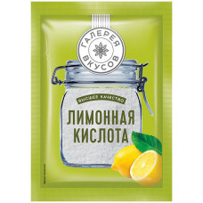 «Галерея вкусов», лимонная кислота, 50 гр. Россия