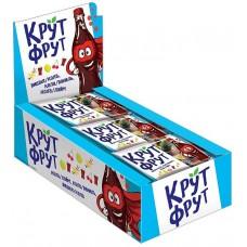 «КрутФрут», мармелад жевательный в форме забавных бутылочек, 40 г (упаковка 15 шт) Яшкино