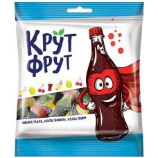 «КрутФрут», мармелад жевательный в форме забавных бутылочек, 170 гр. Яшкино