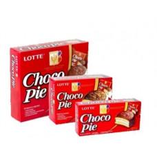 Шоколадные пирожные Чоко Пай (Choco Pie) Orion (12шт.), 336 гр.