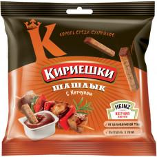 «Кириешки», сухарики со вкусом шашлыка и кетчупом «Heinz», 85 гр.