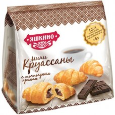 Круассаны мини 180 гр , Яшкино, с шоколадом/Ниж Таг