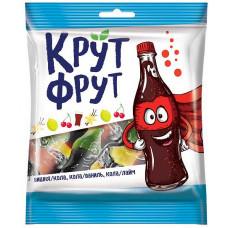 «КрутФрут», мармелад жевательный в форме забавных бутылочек, 70 гр. Яшкино