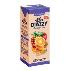 «Djazzy», сок мультифруктовый, с мякотью, 200 мл
