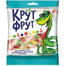 «КрутФрут», мармелад жевательный в форме забавных змеек, 70 гр. Яшкино