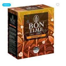 Bontime чай черный, 100 пакетиков, 200 гр