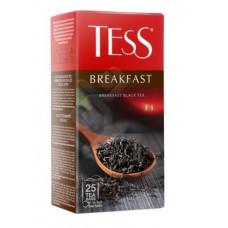 Чай черный в пакетиках Тесс Breakfast 25 пак/уп, 1,8 г