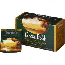 Чай Гринфилд Классик Брекфаст черный 2гр/25пак.
