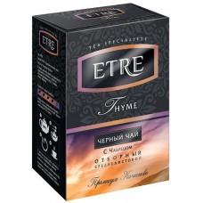 «ETRE», «Thyme» чай черный с чабрецом, 100 гр. Яшкино