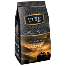 «ETRE», чай «Royal Ceylon» черный цейлонский крупнолистовой, 200 гР.