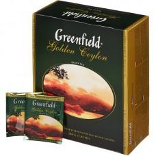 Чай Гринфилд Голден Цейлон 2г/100 пак.