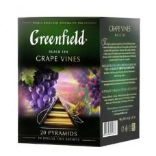 Чай черный Гринфилд Grape Vines в пирамидках, 20 шт.