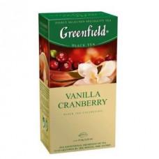 Чай черный Гринфилд Vanilla Cranberry 1.5/25пак.