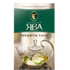 """Чай зеленый листовой Принцесса ЯВА """"Премиум Улун"""", 100 гр."""