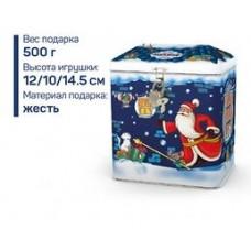 «Яшкино», новогодний набор  «Домик-копилка», 500 гр.