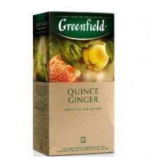 Чай зеленый Гринфилд Quince Ginger,в пакетиках 25 шт