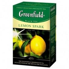 Чай Гринфилд Лимон Спарк 100 гр.