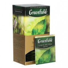 Чай зеленый Гринфилд Green Melissa в пакетиках 25 шт.