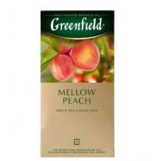 Чай зеленый Гринфилд Mellow Peach в пакетиках, 25 шт.