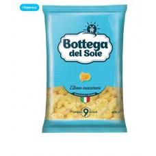 «Bottega del Sole», макаронные изделия «Рожки», 400 гр. Яшкино