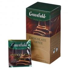 Чай Гринфилд  Шоколад Тоффи  1.5/25пак.
