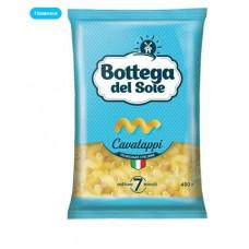 «Bottega del Sole», макаронные изделия «Витки», 400 гр. Яшкино