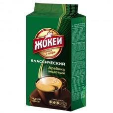 Кофе молотый Жокей Классический 100 г (вакуумный пакет)