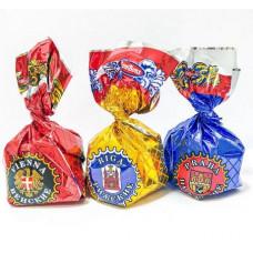 Конфеты Пражские. Вес 1 кг. Юниаква Республика Беларусь.