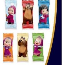 """""""Маша и Медведь вкус карамель"""" в шоколаде.Вес 1 кг. Сириус"""