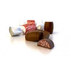 """""""Фигурный шоколад с кунжутом""""к-ты вес 702 гр/Жако. Товар продается упаковкой."""