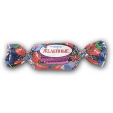 """""""Желейные Клубника со сливками""""конфеты. Вес 1 кг. Красный Октябрь"""