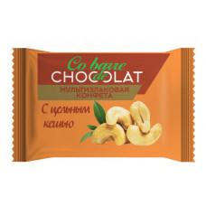 """""""CHOCOLATE мульти злаковые/белые/ с целым кешью""""конфеты. Вес 2 кг."""