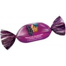 «Фруктовичи», конфета «Чернослив Михайлович» с грецким орехом в шоколадной глазури. Вес 1 кг. Яшкино