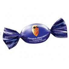 «Ореховичи», конфета «Миндаль Иванович» в молочной шоколадной глазури (упаковка 0,5 кг) Яшкино