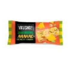 VKUSNOFF конфеты мультизлаковые ананас и тыквенные семечки. Вес 1 кг. Сибирская белочка.