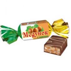 Медунок с орехом глазир. к-ты вес 1 кг /Славянка