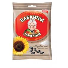«Бабкины семечки», семечки жареные, солёные, 100 гр.