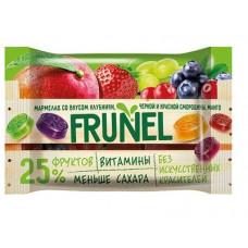 «Frunel», мармелад со вкусом клубники, чёрной и красной смородины, манго, винограда, 40 гр.