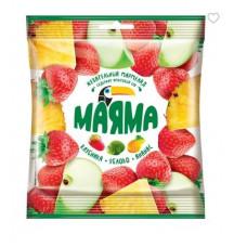 «Маяма», мармелад жевательный в форме ягод и фруктов, 70 гр.