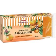 «Озёрский сувенир», мармелад «Апельсин», желейный, в виде кубиков, 180 гр. яшкино