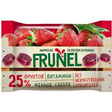 «Frunel», мармелад со вкусом клубники, 40 гр. Яшкино