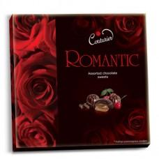 Набор конфет: Romantic Розы 360 гр . Москва. Шоколадный кутюрье. Размер 32*32*2.5