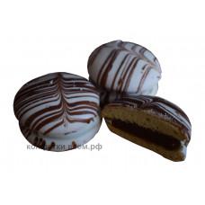 Бушеле бисквит со сгущенкой  в глазури. Вес 2 кг. г. Ульяновск Товар продается упаковкой.