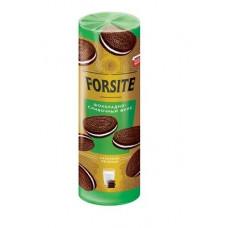 «Forsite», печенье-сэндвич с шоколадно-сливочным вкусом, 208 гр.