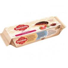 «Яшкино», печенье «Клубника», сдобное, 137 гр.