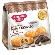 «Яшкино», круассаны с шоколадным кремом, 180 гр. Яшкино
