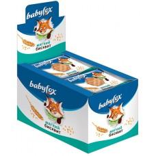 «BabyFox», мягкий бисквит с натуральным составом, 25 г (упаковка 10 шт)