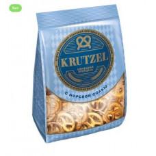 «Krutzel», крендельки «Бретцель» с солью, 250 гр. Яшкино