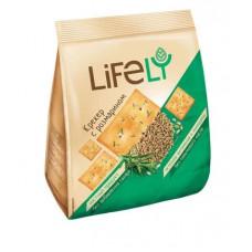 «LifeLY», крекер с розмарином, 180 гр. Яшкино
